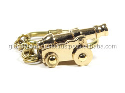 Nautical Brass cannon Key Chain