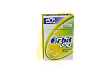 Orbit Drops Lemon Mint 33g