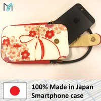 quality and luxury cover for iphone 5s smartphone case with metal clasp made in Japan