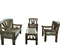 Bamboo Out Door Furniture Set of 4 Indonesia