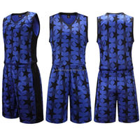 Full sublimation dri fit black mesh cheap youth reversible basketball uniform For Girls