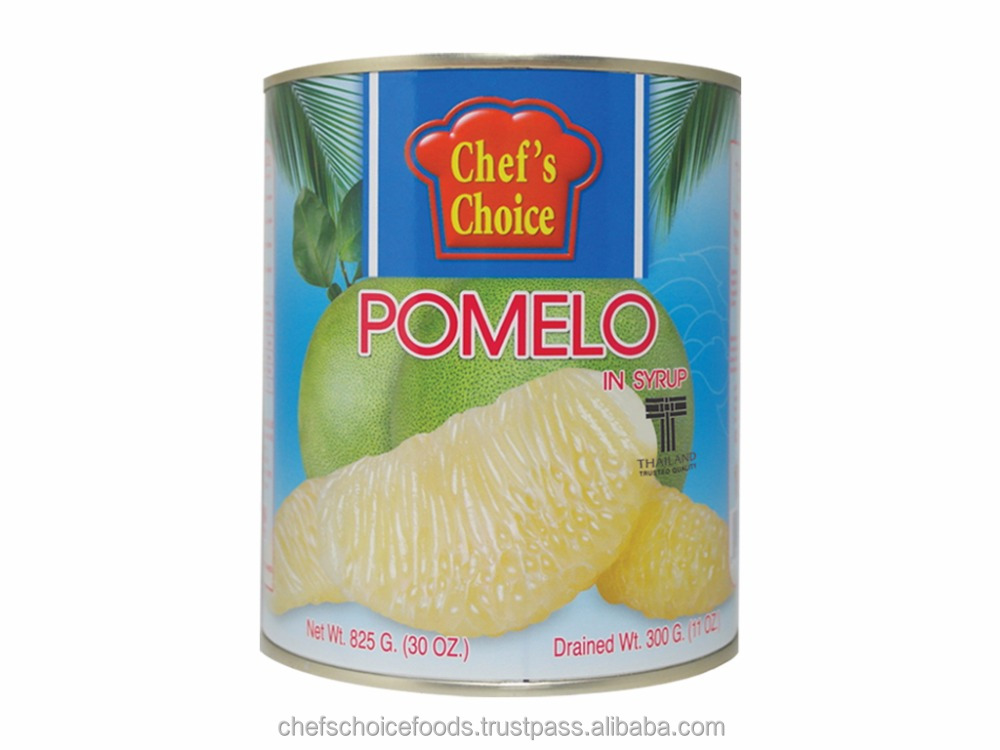 Fresh and best grade from Thailand pomelo in syrup