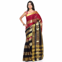 Indian Cotton Designer Saree