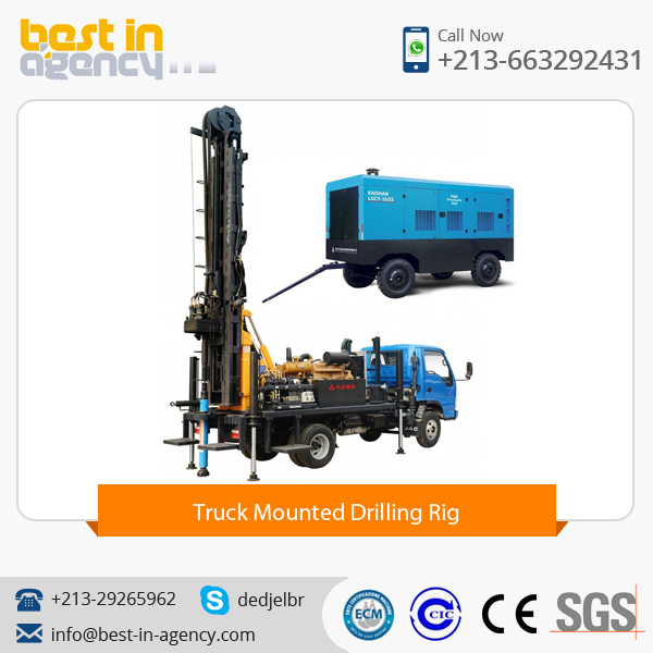KW20 Truck Mounted Drilling Rig
