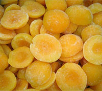 Best selling good quality sweet yellow IQF frozen peach