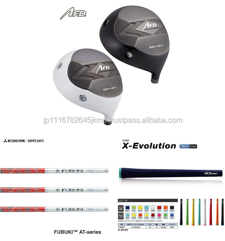 Japanese Golf club heads Components AFD SD-01 PLUS AFD GOLF