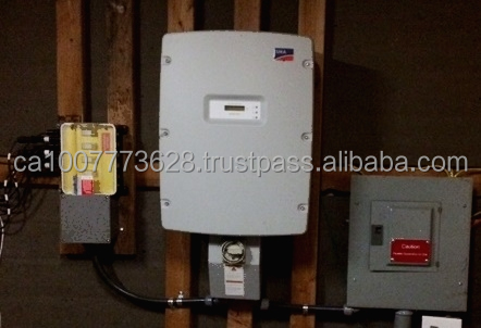 4-strings IP65 convergence solar combiner Box - pre-installed