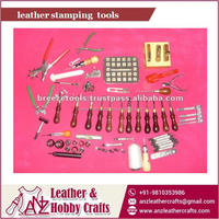 Carved Design Solid Material made Leather Stamping Tools for Bulk Sale