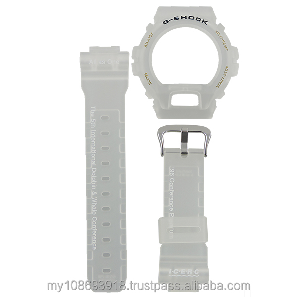 G-Shock DW-6900K-8 Watch Bezel and Band Replacement