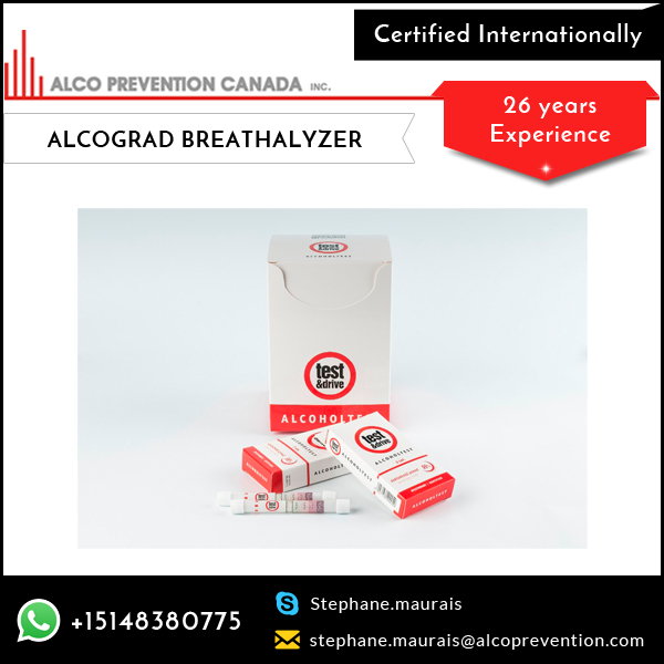 Hot Sale of Best Grade Disposable Alcohol Tester/Breathalyzer