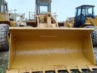 used caterpillar produced 966C hydraulic wheel loader in shanghai