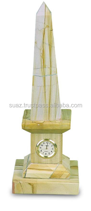 Marble & Onyx Watches , Marble handicrafts , Onyx Table Watch , Marble Table Clock, Marble Clocks , Onyx Clocks