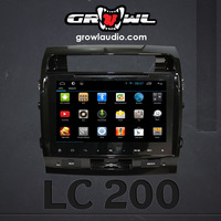 "OEM ANDROID HEAD UNIT 8"" CAPACITIVE TOUCH FIT FOR TOYOTA LAND CRUISER"
