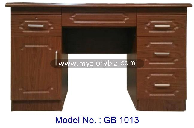 Hot Sales Writing Desk Study Table For Home Or Office Use With Cabinet And Drawers In Classic Design