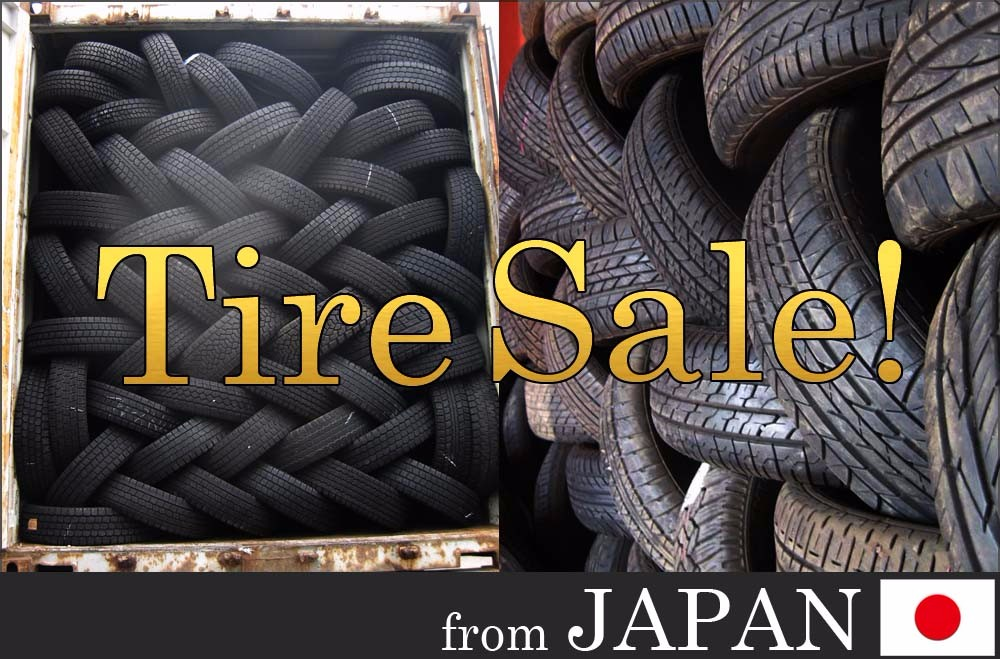 Exporting Bridgestone Yokohama Toyo Michelin Pirelli Dunlop used tire, used tyre from Japan