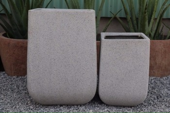 Square Type and concrete Material fiber cement planters