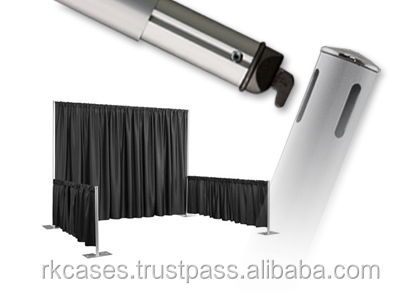 1. RK supplier new design adjustable backdrop frequenty used pipe and drape stand for booth .