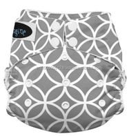 cloth diaper with Snap All in One Diaper, Ocean Life, Newborn *
