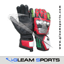 Leather Motorbike/ Motorcycle Racing Gloves
