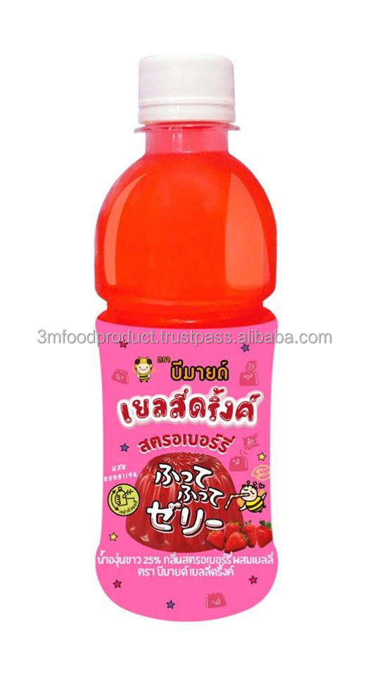 Jelly Fruit Juice with Grape juice Drink Strawberry Flavoured