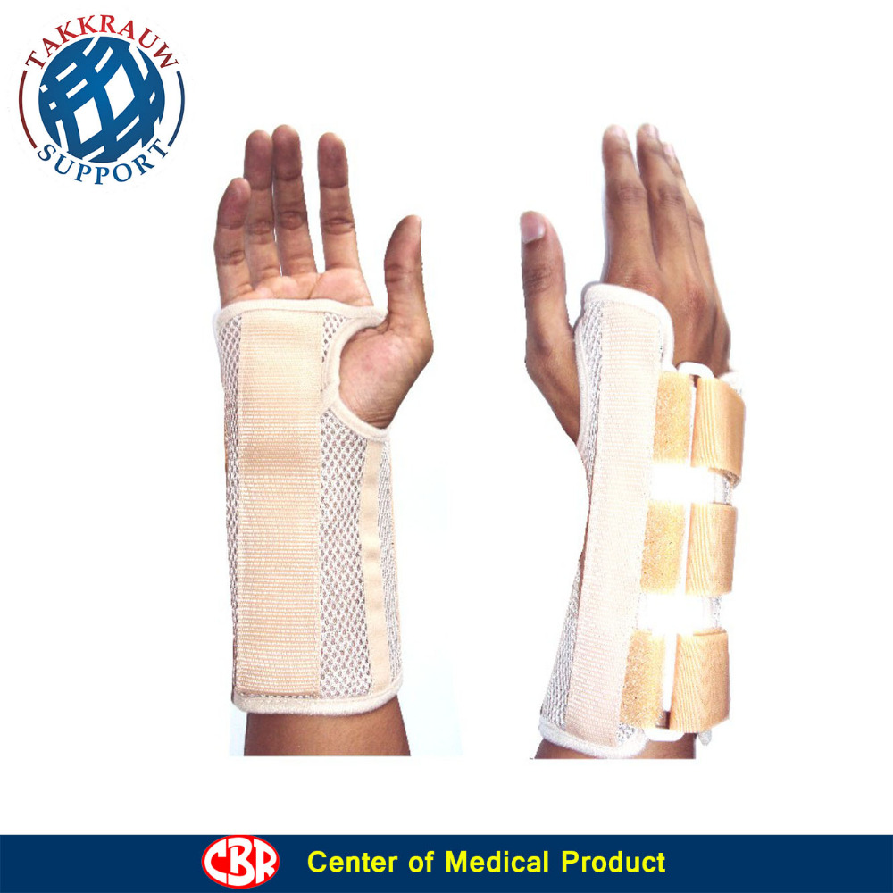 Wrist Palm Brace, Finger Splint, and Grip Ball for Sport Safety and Recovery