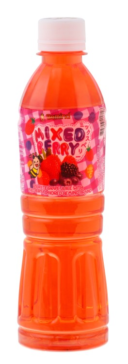 Mixed Berry Juice with Nata De Coco bemind brand