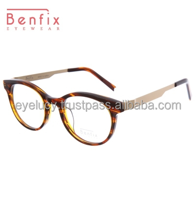 2015 Fashion Acetate & Stainless Glasses Frame_benfix-bfmc410 ...