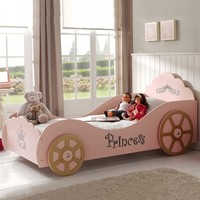 Pink Color Max Home Kids Princess Auto Child Bed