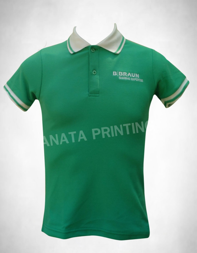 Embroided short sleeves Polo Shirts Uniforms