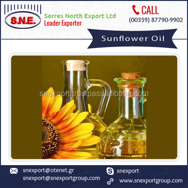 Edible Sunflower Oil Available in Bulk for Wholesale Price