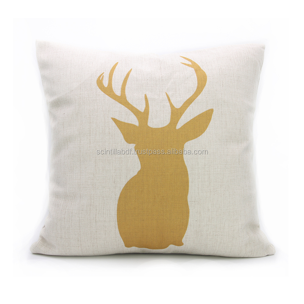 LG0029, Free Shipping,1pc, Elk Decorative pillow Cover, Custom accept