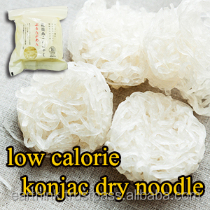 Very delicious and healthy konjac made in Japan dry noodles Dried shirataki konjac noodles 25g x 10 portions