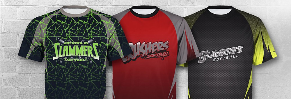 custom designs slow pitch uniform jerseys