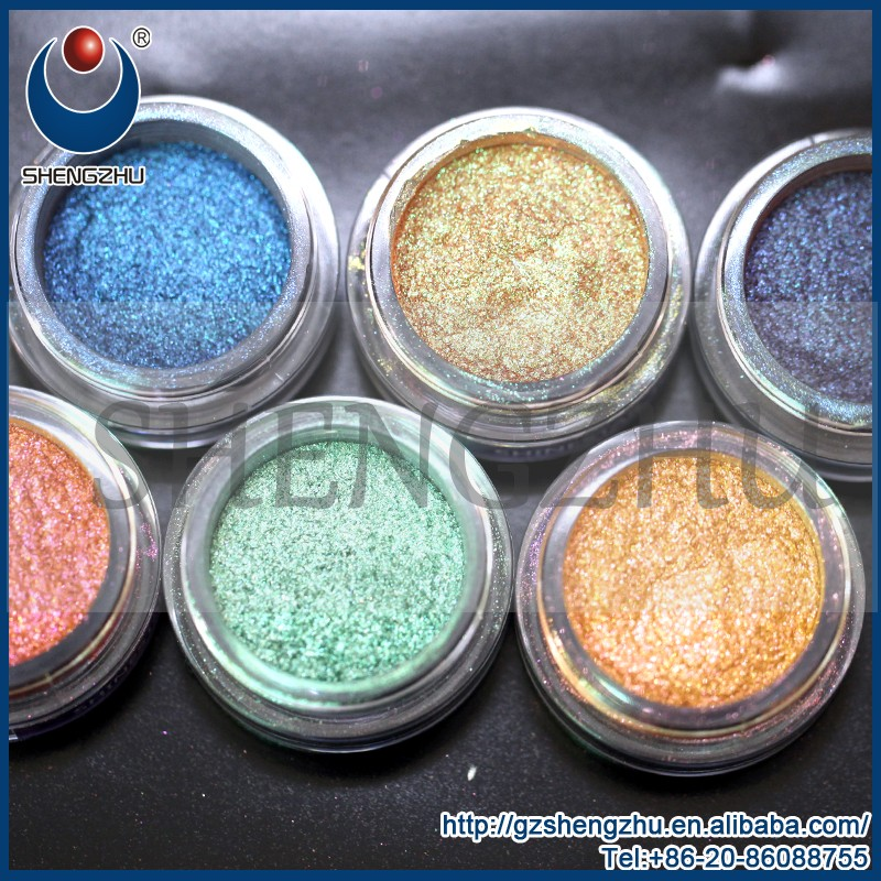 Shengzhu Chameleon color changing chrome effect pigment for cosmetic manufacture in China