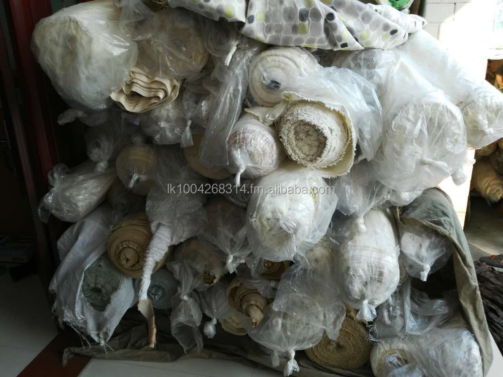 Stock lot bed sheet fabrics