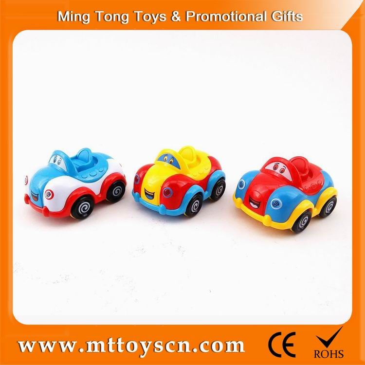 Cartoon kids favorite runabout toy mini friction car