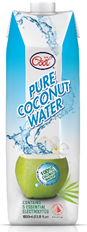 100% Pure Coconut Water - ( 1000ml Pack)