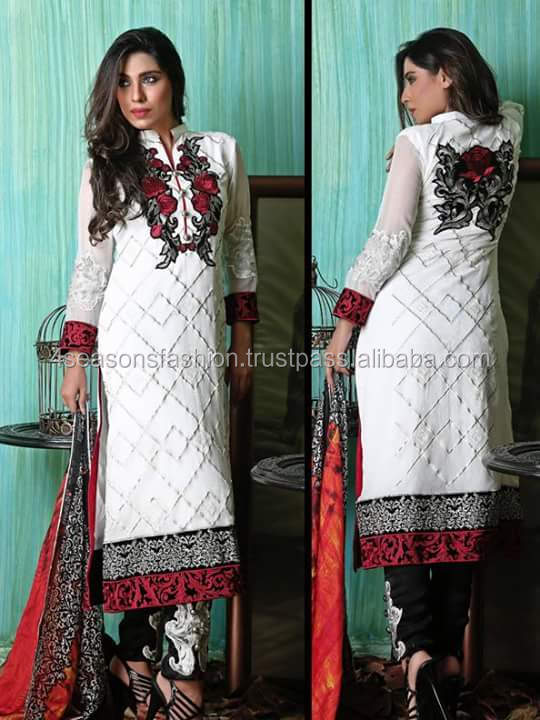 Pure Silk Chiffon Ladies Suits