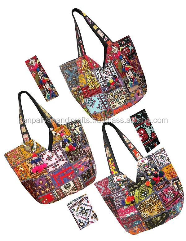 Wholesale lot Vintage Ethnic Traditional Tribal Banjara hippie hippy Gypsy Bohemian Patchwork boho Hand Bag,Tote,Purse