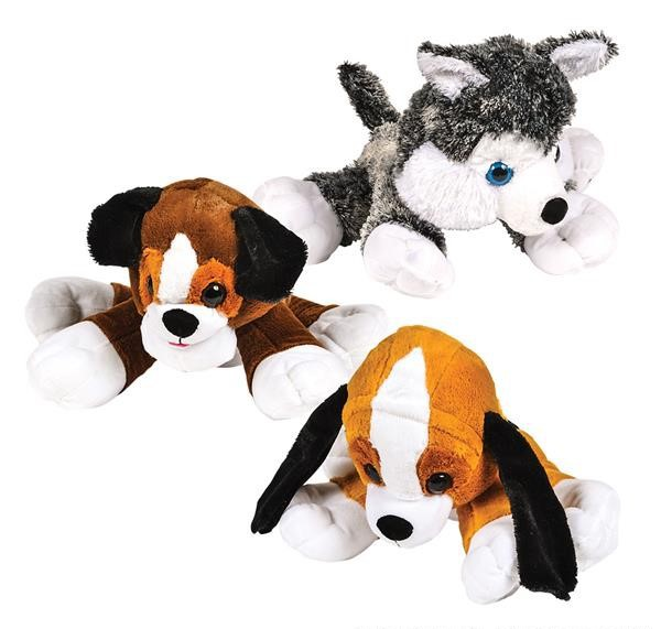 "21 "" DAWGIE DOG MIX en peluche"
