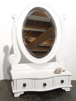 Table mirror with drawers