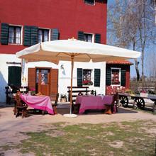Iris 250x250( 98x98inch) Terrasse Großen Platz Regenschirm Für  Professionelle Anwender: Restaurants, Hotels