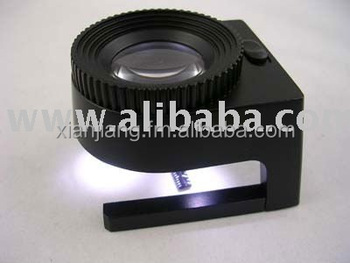 LED light desktop magnifier