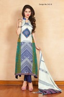 New Pakistan Lawn Three Piece Suits/Printed cotton Lawn Suits Fabric