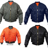 Bomber Jackets Black Military Air Force
