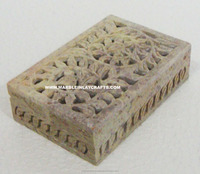 Top Quality Stone Carved Jewellery Box