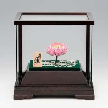 Lotus , Silver Craft , Japanese traditional work