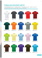 Round Neck Premium Cotton T-shirt 150gsm/160gsm/180gsm