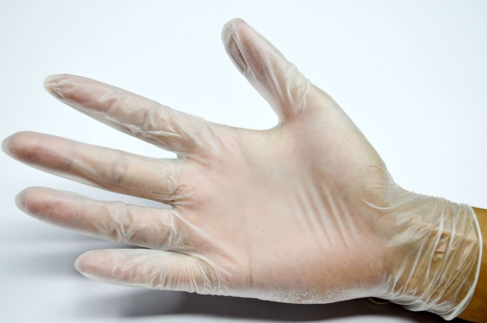 latex / nitrile / vinyl glove consumables for beauty salons