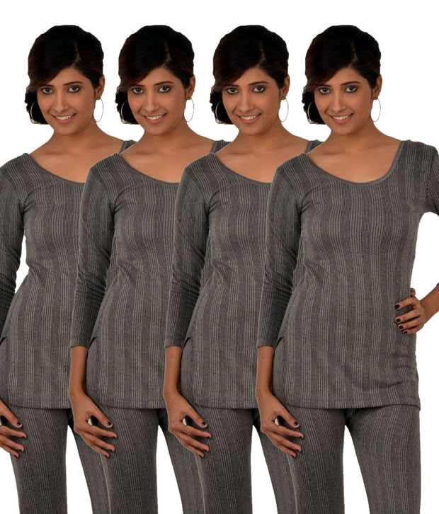 WOMENS WINTER WARM WEAR WAFFLE THERMAL TOPS PANT PYJAMA SETS
